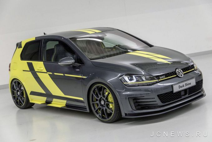 Volkswagen Golf GTI Dark Shine показан в Вёртерзе